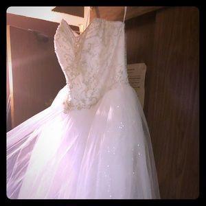 David's Bridal Wedding Dress NWT
